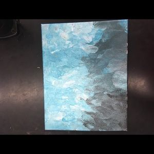 Ooak Fluid Art on canvas